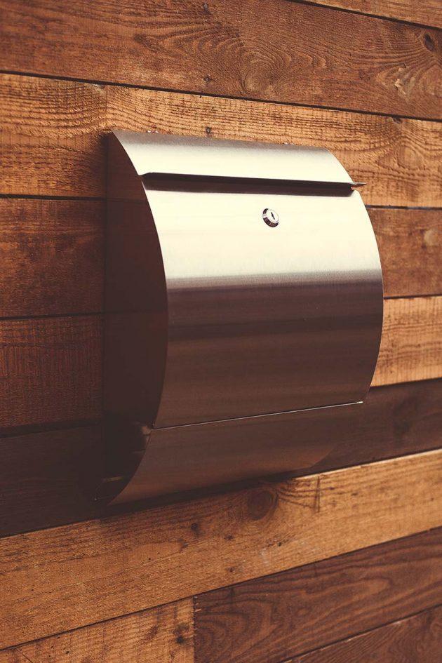 16 Sleek Handmade Modern Mailbox Designs To Complement