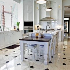 Kitchen Floor Designs Themes For Kitchens 15 Delightful With Marble Flooring Luxurious Look