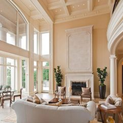 How To Decorate Living Room Elegant Modern Furniture 16 Outstanding Ideas For Decorating With High Ceiling