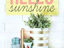 15 Beautiful DIY Decor Projects For The Upcoming Summer