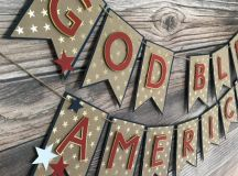 16 Festive Handmade 4th of July Garland Designs For ...