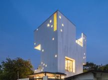 Aperture House by Stu/D/O in Bangkok, Thailand