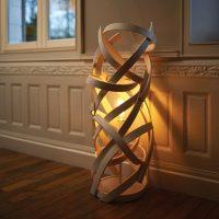 17 Delightful Wooden Floor Lamp Designs That Will Catch ...