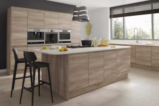 Handleless Kitchen Cabinets To Enhance The Look Of Your Dream Kitchen