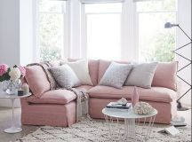 17 Pink Sofa Designs To Break The Monotony In Neutral ...