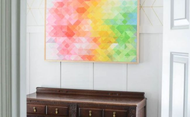 16 Super Creative Diy Wall Art Projects You Can Easily