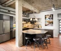 Spectacular Industrial Kitchen Design