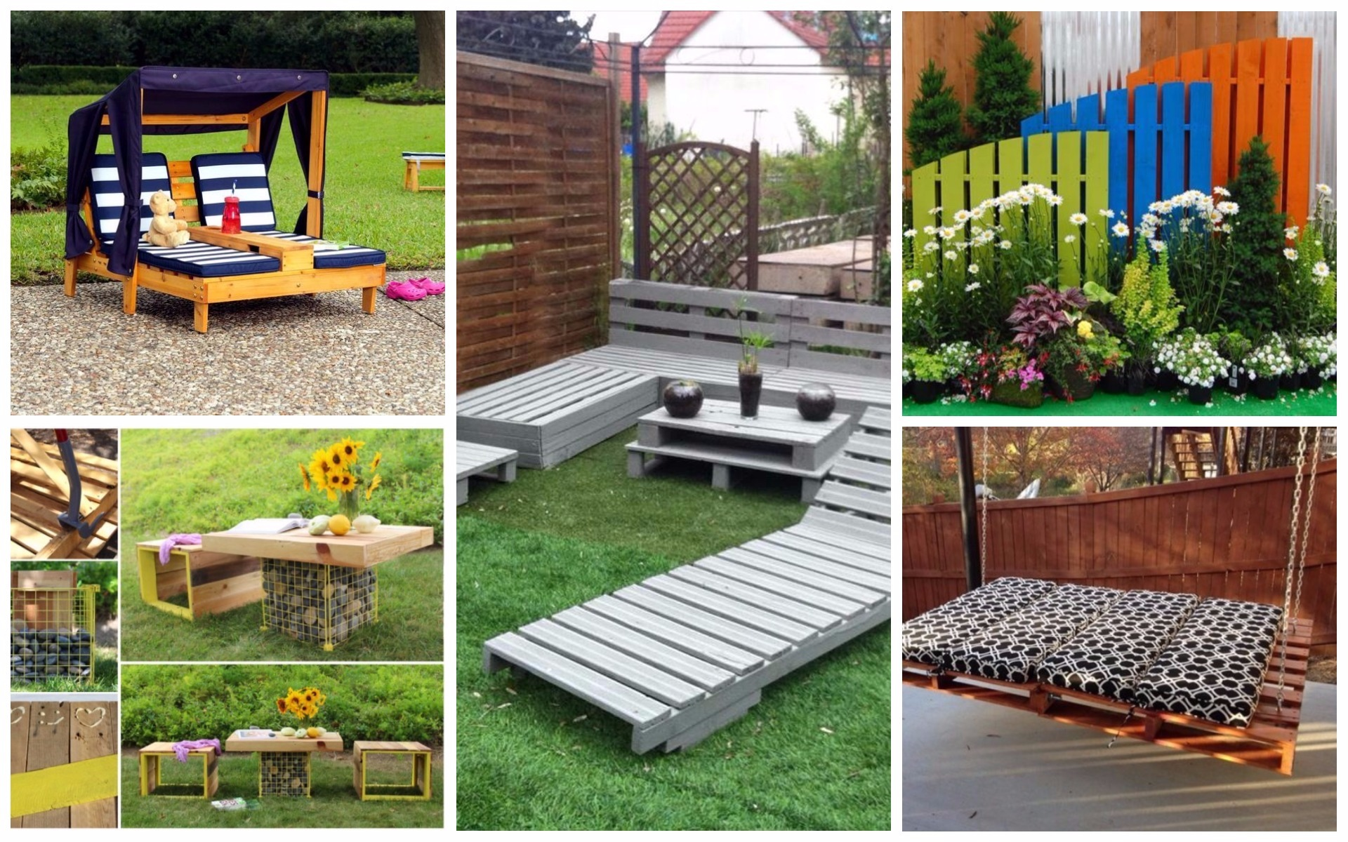 beautiful wooden sofa designs round bed 22 spectacular diy outdoor pallet projects that everyone ...