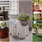18 Outstanding Tree Stump Decorations To Add Rustic Touch In