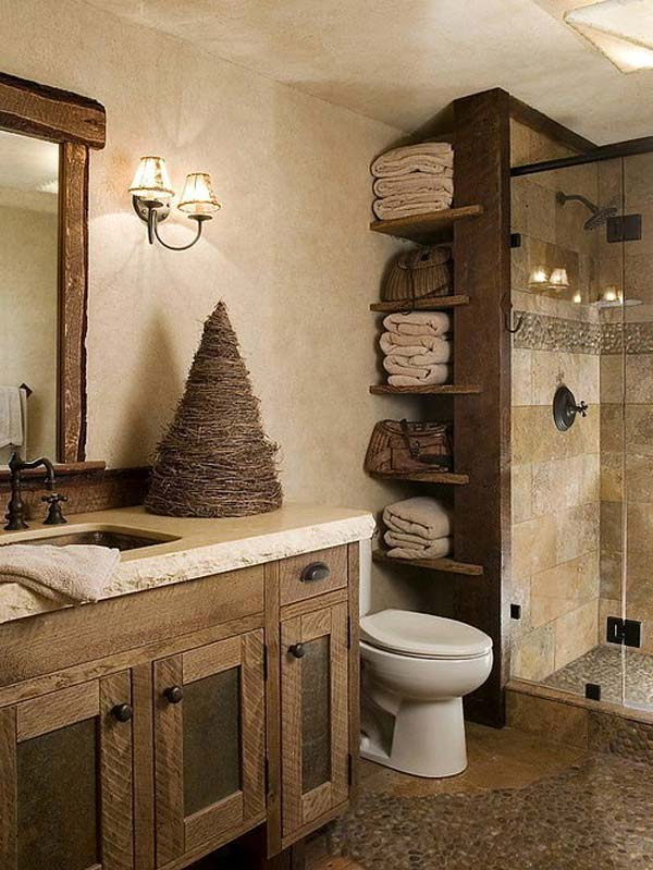 Make bedrooms in your home beautiful with bedroom decorating ideas from hgtv for bedding, bedroom décor, headboards, color schemes, and more. 18 Charming Ideas For Adding Rustic Touch To The Bathroom
