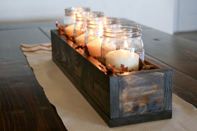 17 Fascinating DIY Candle Holders In The Spirit Of The Fall