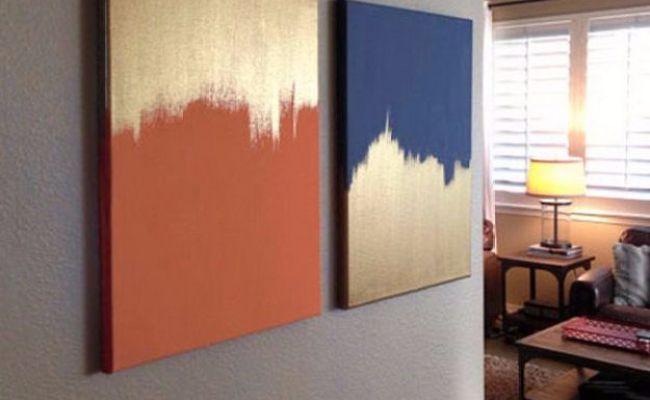 36 Diy Canvas Painting Ideas Easy Wall Art Easy Wall And Diy Canvas Dubai Khalifa