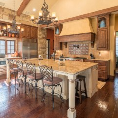 Living Room In Spanish Swing 16 Astonishing Mediterranean Kitchen Designs You'll Fall ...