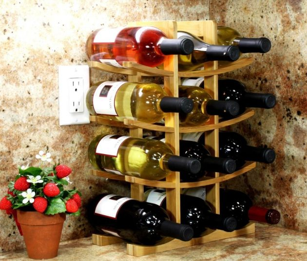 17 Outstanding DIY Wine Rack Designs That Are Easy To Make