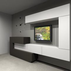Tv Cabinet For Living Room Design Ideas With Front Door 17 Outstanding Shelves To More ...