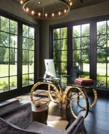 Stunning Mediterranean Home Office Design