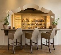 Wicked Mediterranean Home Bar Design