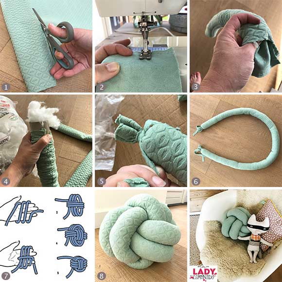Extraordinary DIY Knot Pillows To Give New Appearance To