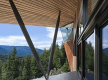 Hadaway House by Patkau Architects in Whistler, Canada