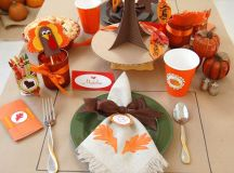 15 Awesome DIY Thanksgiving Table Decor Projects Your Kids ...
