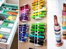 15 Practical DIY Storage Ideas For Your Crafting Space ...