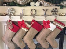 16 Cheerful Christmas Stockings You Will Want To Hang On Your Mantle