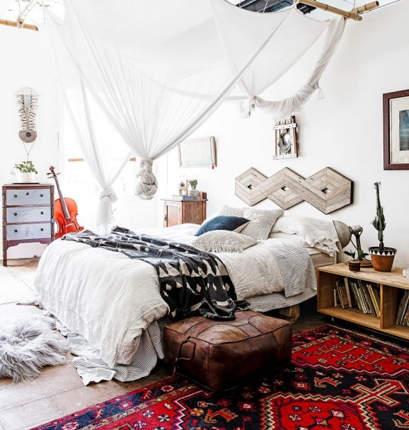 Awesome! 17 Boho Chic Bedroom Designs To Enter Diversity In The Home