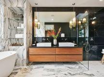 18 Sleek Modern Bathroom Designs Youll Fall In Love With
