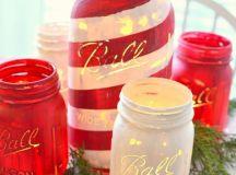 18 Wonderful DIY Christmas Mason Jar Ideas You Should Craft