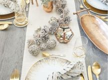Decorate The Home In Gold And Silver For Chic Festive Atmosphere