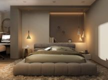 17 Excellent Examples For Decorating Harmonious Bedroom