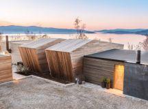 Malangen Retreat by Snorre Stinessen Arkitektur in Tromsø, Norway