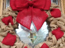 15 Cute Handmade Valentines Day Wreath Designs Make A Unique Gift