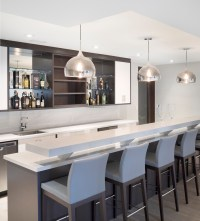 15 Stupendous Modern Home Bar Designs That Will Make Your ...