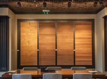 Novawood Office and Showroom: A Multifunctional Design in a Flexible Structure