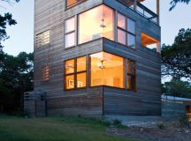 Tower House by Andersson Wise Architects in Austin, Texas