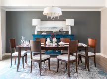 16 Extraordinary Transitional Dining Room Interiors ...