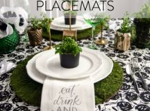 17 Perfect DIY Placemats and Napkins For Your Table Decor