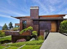 Brook Bay Residence by SKL Architects on Mercer Island in ...