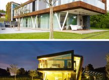 Jewel Box Villa by Design Paradigms in Lausanne, Switzerland