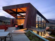 Owl Creek Residence by Skylab Architecture in Colorado, USA