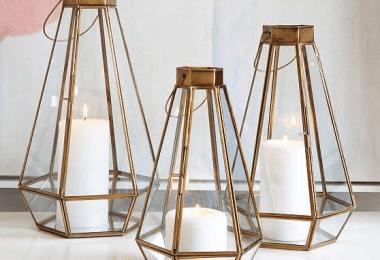 8 Cute Lanterns to Make Terrariums In