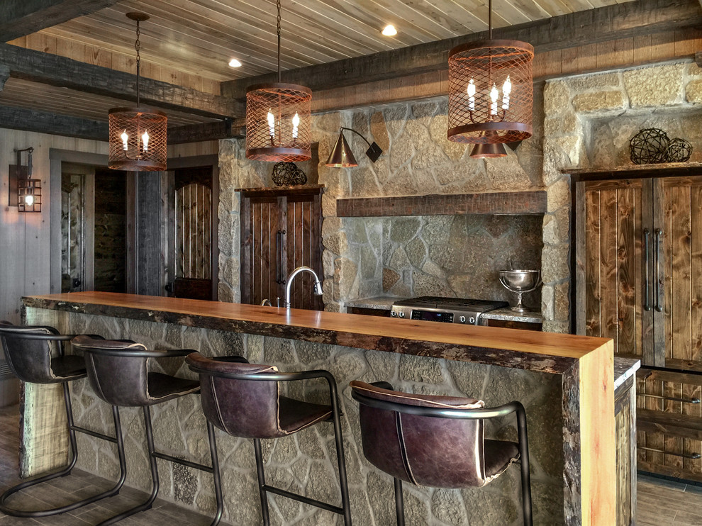 16 Elegant Rustic Home Bar Designs That Will Customize