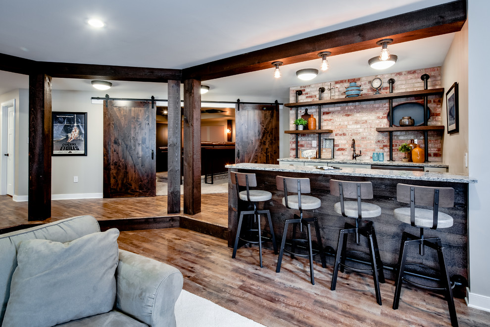 rustic elegant living room designs daybeds for 16 home bar that will customize ...