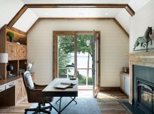 18 Stylish Rustic Home Office Designs That Will Boost Your ...