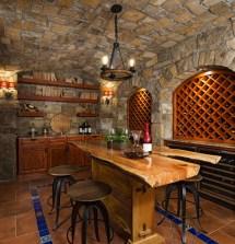Rustic Wine Cellar Design