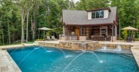 20 Spectacular Rustic Swimming Pool Designs You Will ...