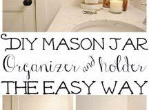 15 Simple Yet Effective DIY Bathroom Storage And Organization Ideas