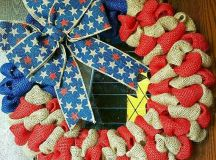 16 Patriotic Handmade 4th of July Wreath Designs You Have To See