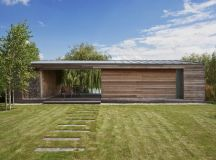 Holiday Cottage by Tóth Project Architect Office in Kapuvár, Hungary